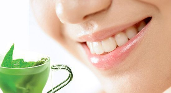 Beneficios del té verde Salud Dental
